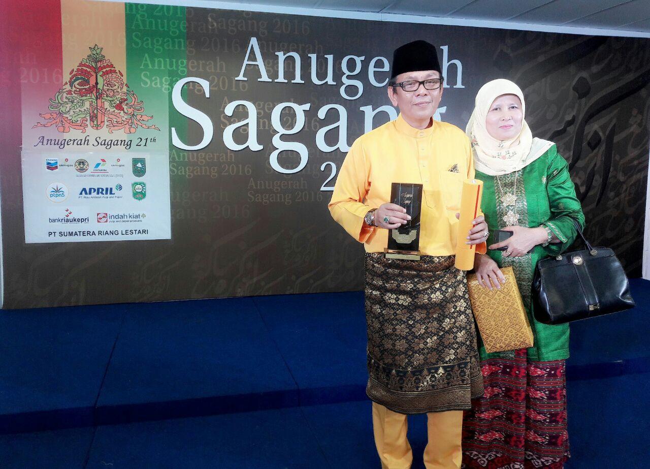 Abdul Malik PhD, Anugerah Serantau Pilihan Sagang 2016