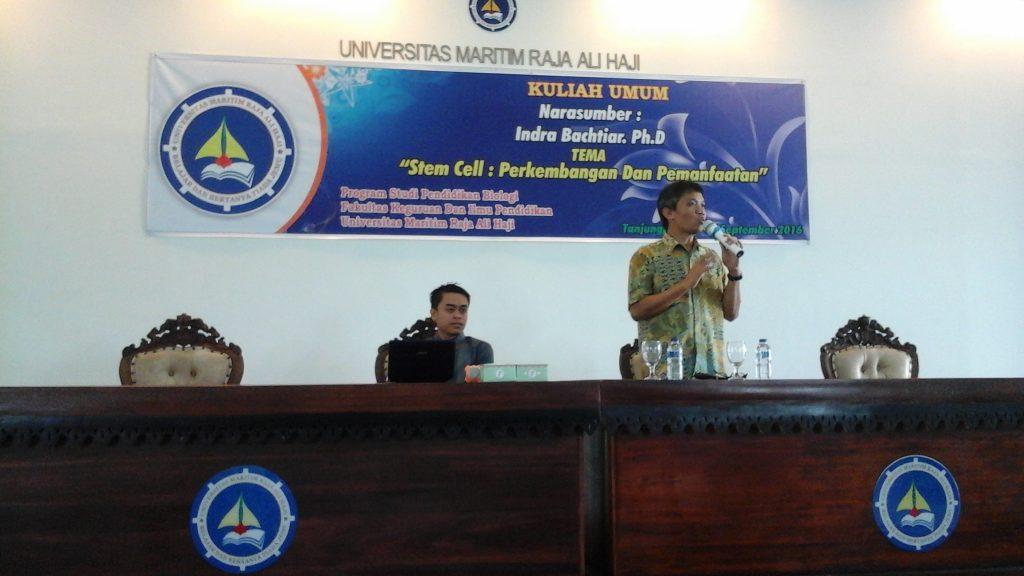 Kuliah Umum Program Studi Pendidikan Biologi